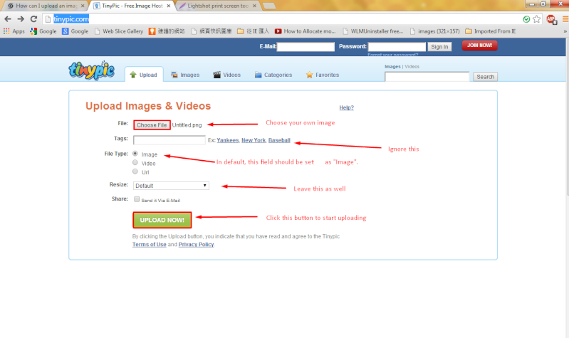 How can I upload an image?!? [SOLVED] Screen26