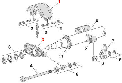 Big Truck Air Brake Systems Brake_11