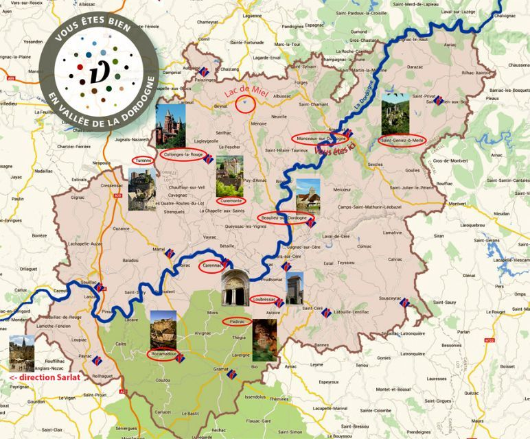 La Vallée de la Dordogne Carte-10