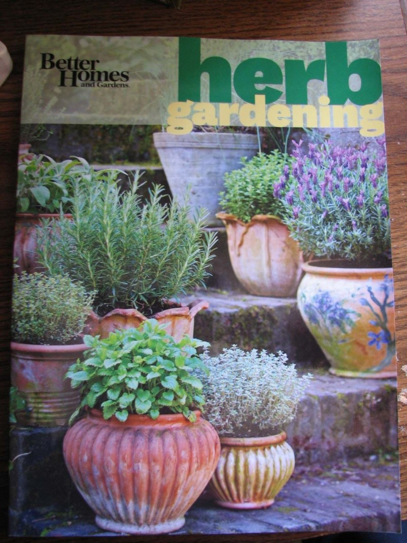 BOOKs on growing herbs. Herb_b11