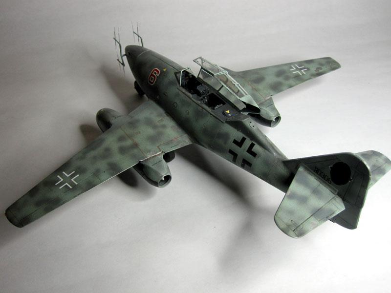 Me262B-1a / Nachtjäger von Italeri in 1:48 Ansich16