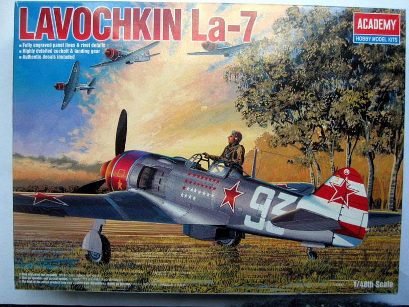 Lavochkin La-7 / Academy, 1:48 Deckel10