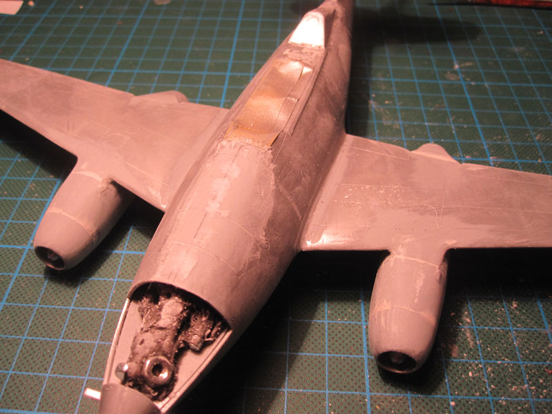 Me262B-1a / Nachtjäger von Italeri in 1:48 Spacht13