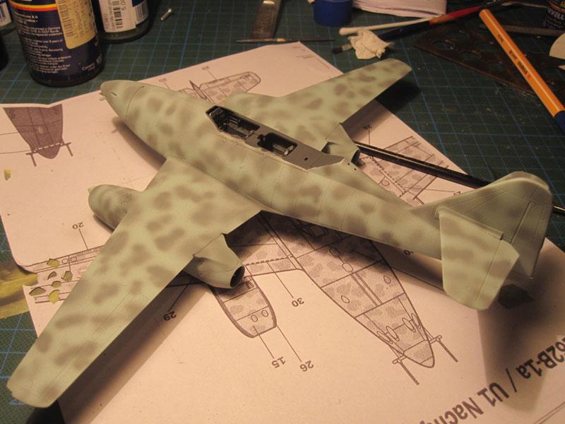 Me262B-1a / Nachtjäger von Italeri in 1:48 Sprenk10