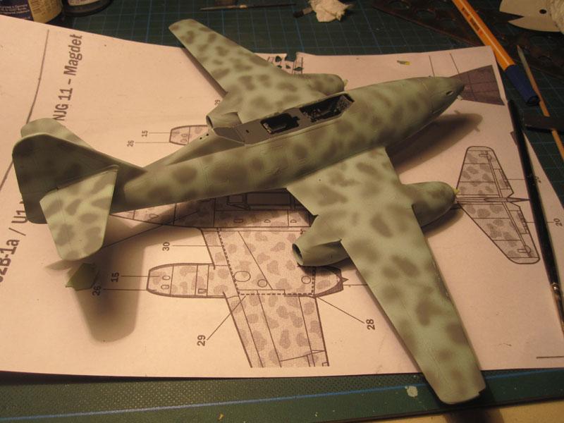 Me262B-1a / Nachtjäger von Italeri in 1:48 Sprenk11