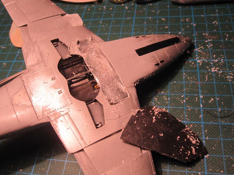 Me262B-1a / Nachtjäger von Italeri in 1:48 Ziehkl10