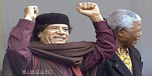 Kadhafi le Jesus Africain Mimoun12