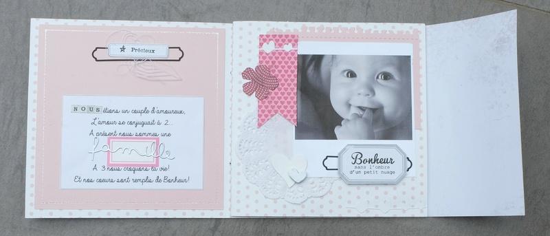 Make & Take Fabinou - Mini Album Famille Dscf0115