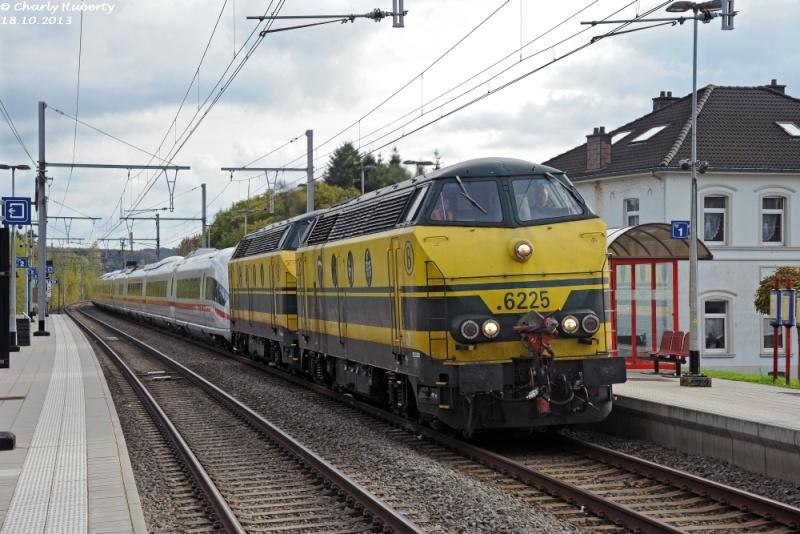 Rapatriement de l'ICE 4611 vers l'Allemagne Cha_6515