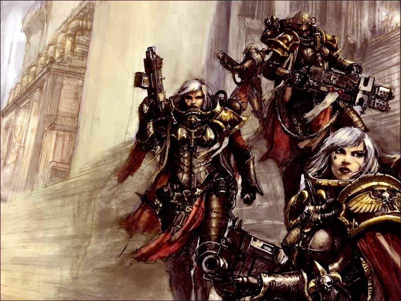 [W40K] Collection d'images : Inquisition/Chevaliers Gris/Sœurs de Bataille - Page 3 Adepta10