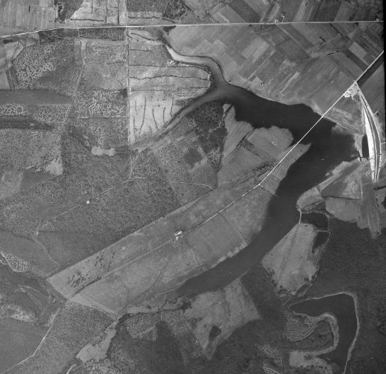 Photographie aérienne ancienne Madine10
