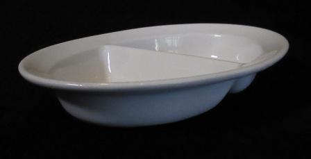 1612 Oval Divided Dish 1612_110