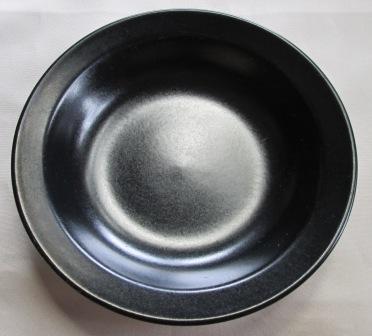 Black Rim Shape Bowl Black_10