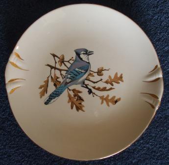 Blue Jay & Magnolia Cake Plates Blueja10