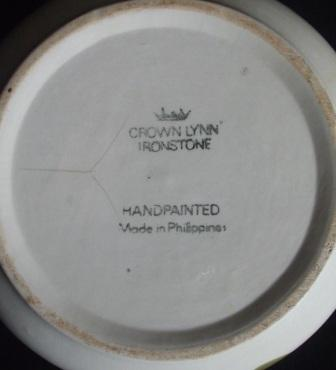 lynn - I found a Crown Lynn Ironstone Handpainted Made In Philippines today!! Cl_phi11