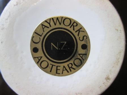 Clayworks NZ impressed mark for GALLERY Claywo11