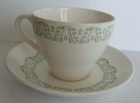 Green Tulip Cup N Saucer Green_10