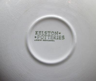 Scroll like pattern on Kelston Saucer is Border Pat.No.119 Green_24