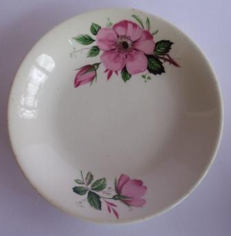Kelston Potteries - pink rose pattern ~ Pretty10