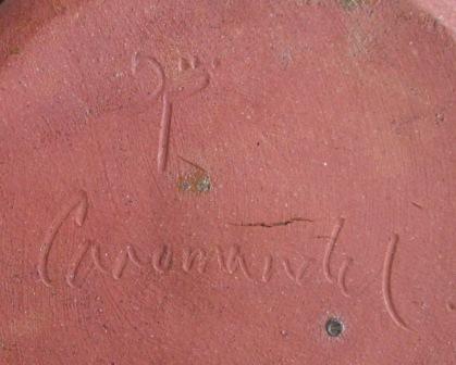 Coromandel red casserole Red_ca10