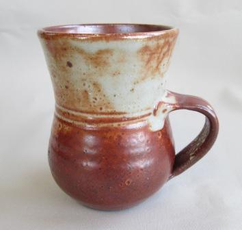 Shino mugs including Dave Woodward Shinom10