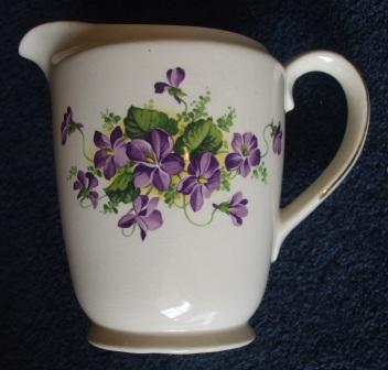 Purple Violets? Kelston Backstamp - Is Lilac Time Pat.No.757 Violet10