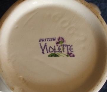Purple Violets? Kelston Backstamp - Is Lilac Time Pat.No.757 Violet11