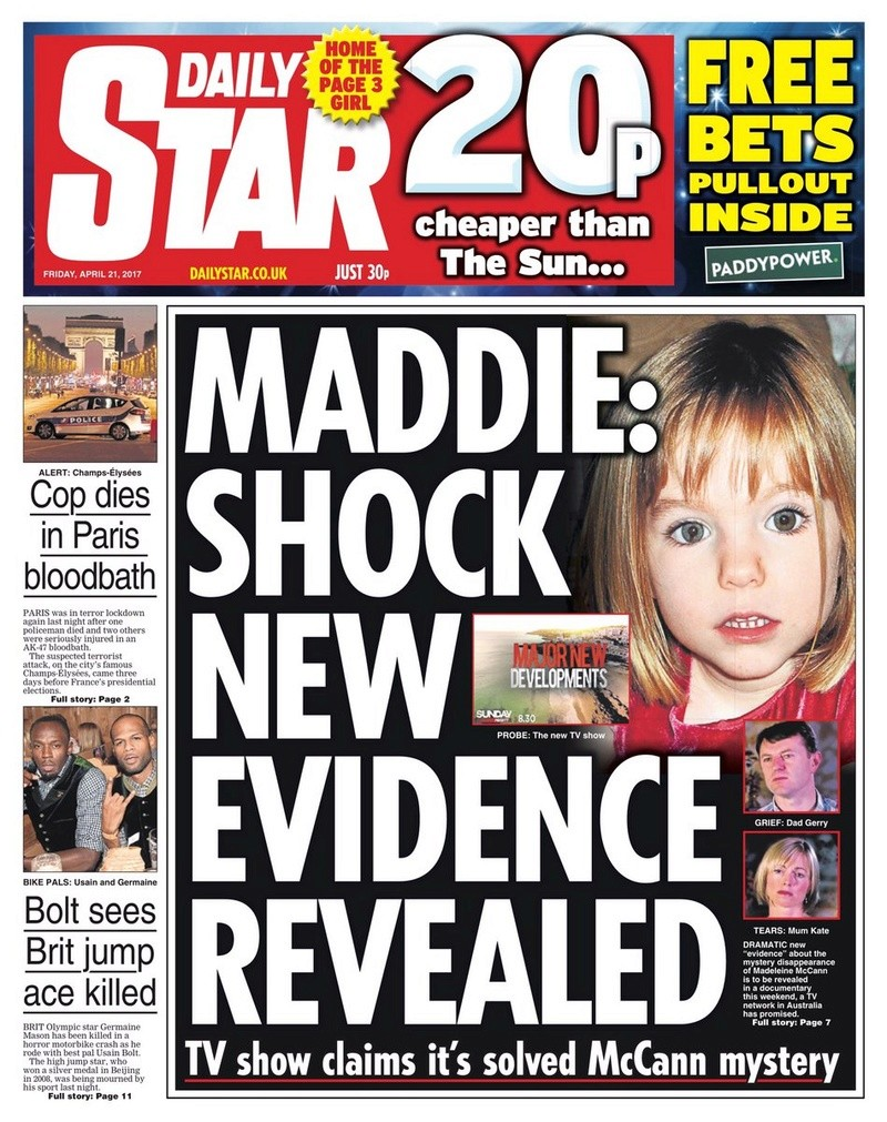 Madeleine McCann's parents urge Australian TV crew to hand over 'new evidence' to police amid claims of 'major' breakthrough Solved10