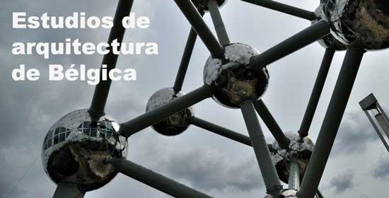 Lista estudios de arquitectura de b lgica for Estudio de arquitectura en ingles