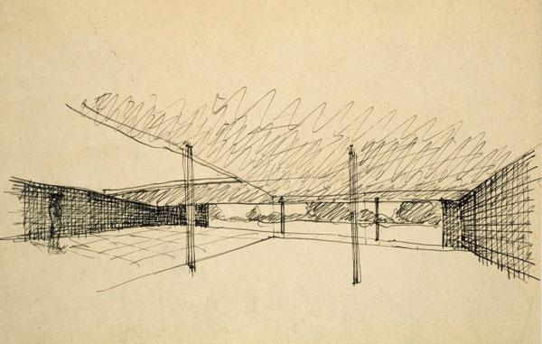 ¿Eres capaz de identificar a un Arquitecto Famoso por un dibujo suyo? Boceto10