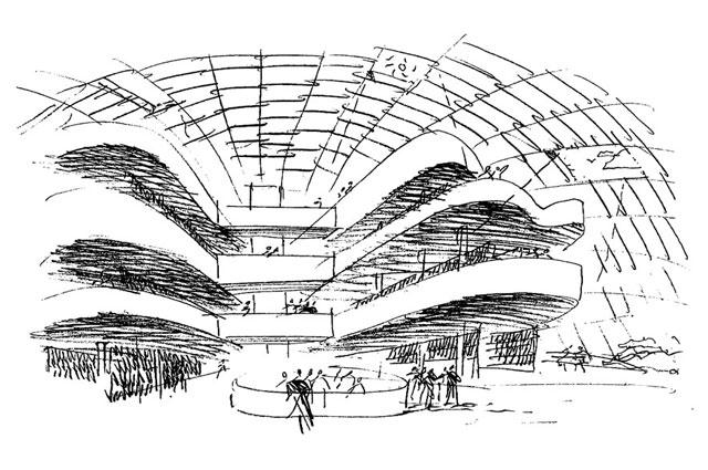 ¿Eres capaz de identificar a un Arquitecto Famoso por un dibujo suyo? Boceto12