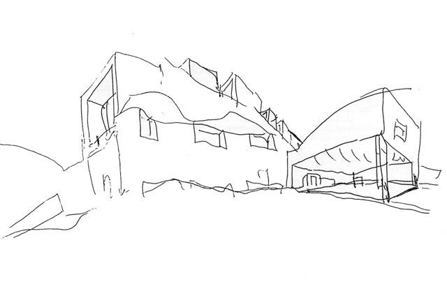 ¿Eres capaz de identificar a un Arquitecto Famoso por un dibujo suyo? Boceto13