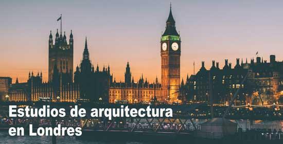 Estudios de arquitectura en Londres