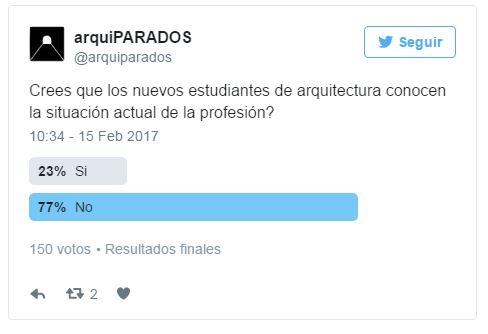 encuesta arquitectos