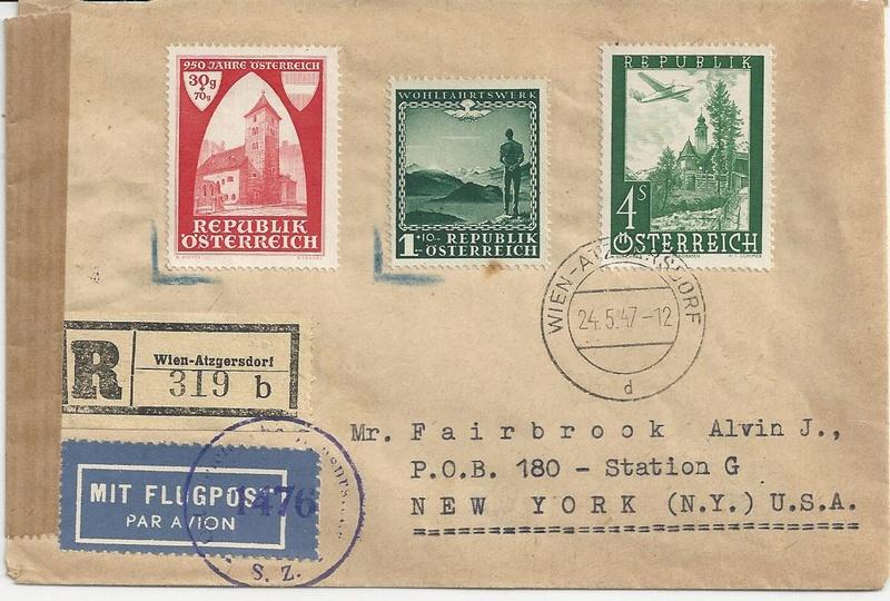 Sammlung Bedarfsbriefe Österreich ab 1945 - Seite 8 Bild14