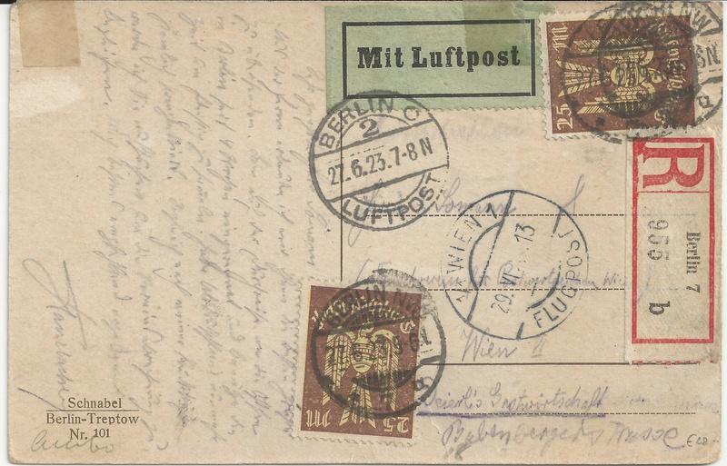 nach - Flugpost nach Österreich - Seite 2 Bild16