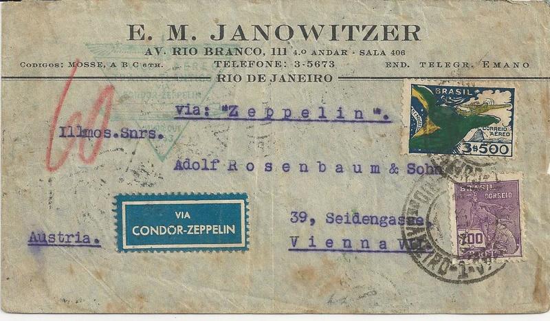 """Südamerikapost per Zeppelin"" Bild39"