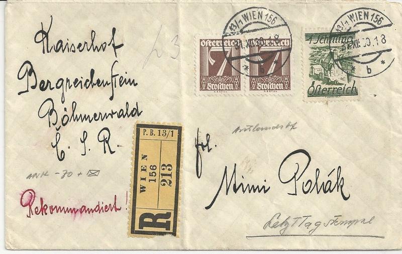 Österreich 1925 - 1938 - Seite 6 Bild73