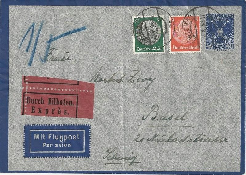 Österreich im III. Reich (Ostmark) Belege - Seite 10 Bild77