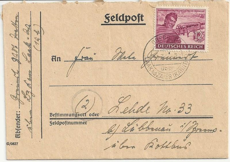 Österreich im III. Reich (Ostmark) Belege - Seite 10 Bild80