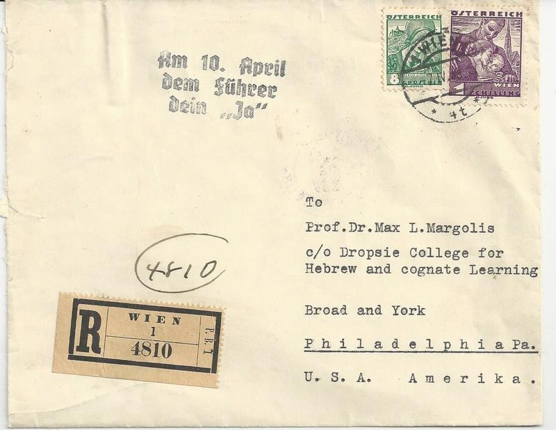 Österreich im III. Reich (Ostmark) Belege - Seite 9 Bild_229