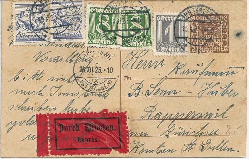 """Postkartenserie """"Quadratischer Wertstempel - Wertziffer im Dreieck"""" 1922-24 - Seite 5 Bild_236"""