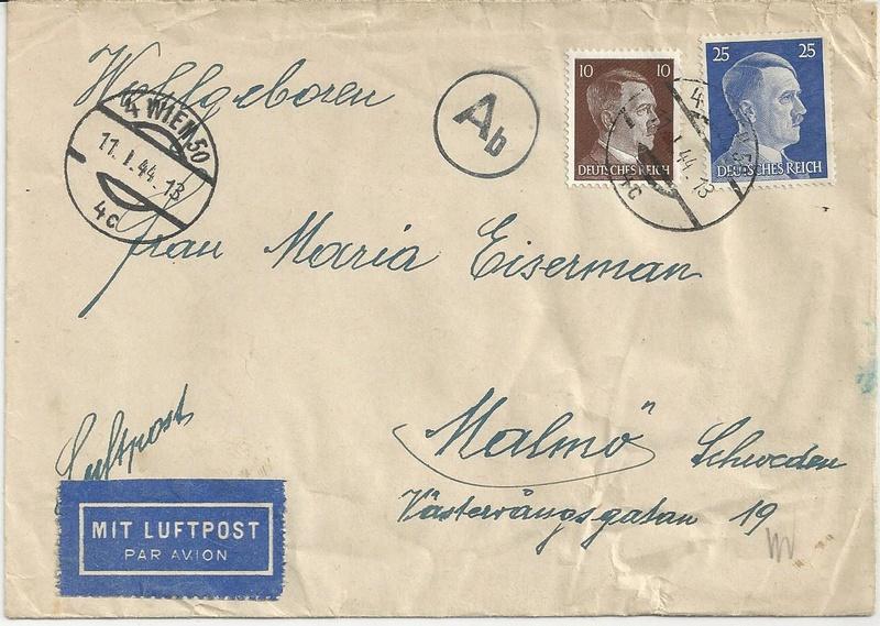 Österreich im III. Reich (Ostmark) Belege - Seite 9 Bild_239