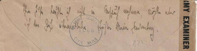 Posthornzeichnung  -  ANK 697-713  -  Belege - Seite 3 Bild_241