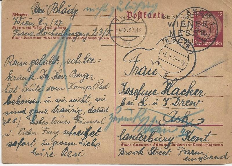 Österreich im III. Reich (Ostmark) Belege - Seite 9 Bild_243