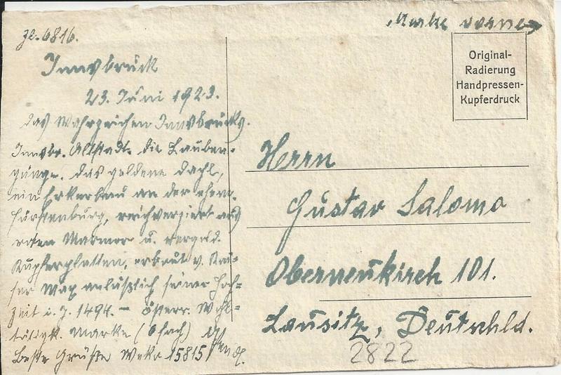 Inflation in Österreich - Belege - 1918 bis 1925 - Seite 9 Bild_254