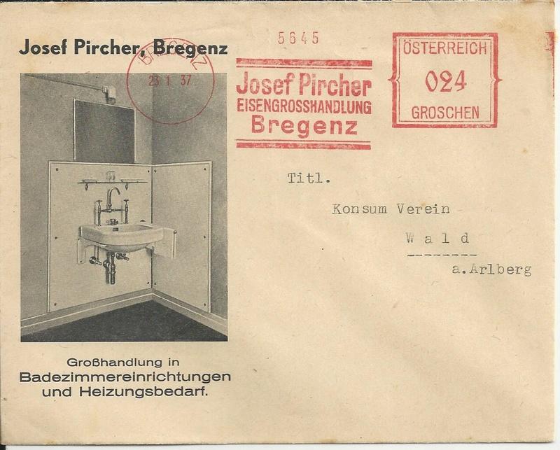 Österreichische Absenderfreistempel  Bild_335