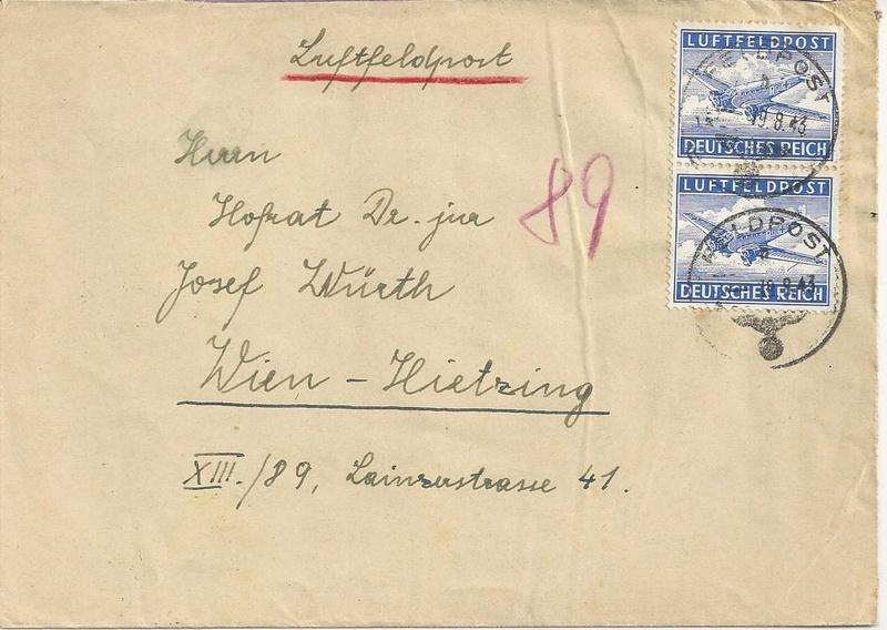 Österreich im III. Reich (Ostmark) Belege - Seite 10 Bild_343