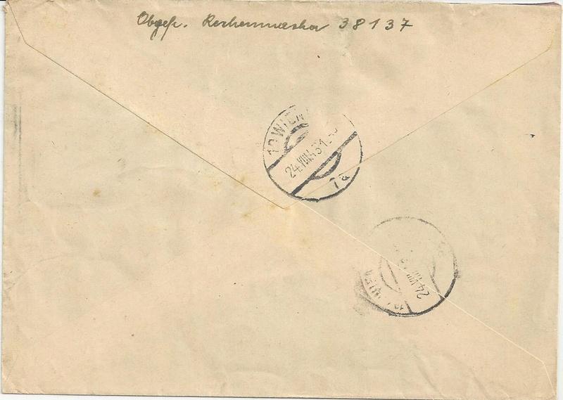 Österreich im III. Reich (Ostmark) Belege - Seite 10 Bild_432