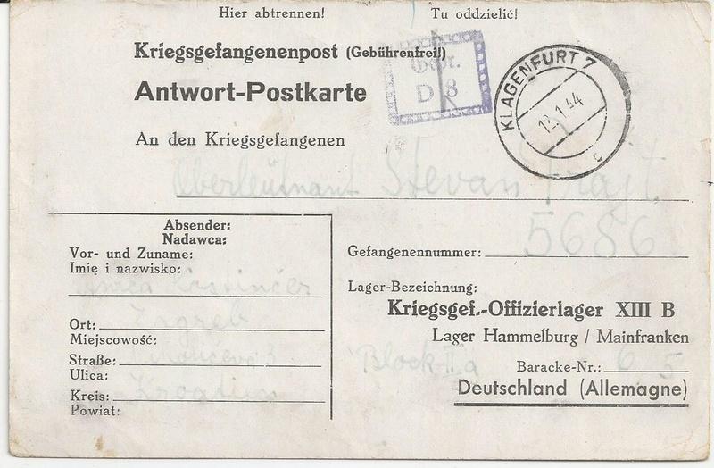 Kriegsgefangenenpost II. Weltkrieg (Österreich) Bild_514